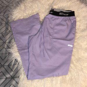 Grey's Anatomy Boxer waist band scrub pants 💉